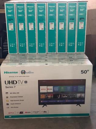 Smart Tv Hisense 50 Polegadas 50A7100F UHD 4K Seladas Entregas e Garantias