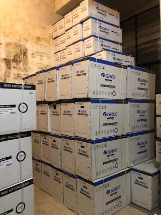 Ar Condicionados Gree, Depoint 9000btu a 24000btu Novos Selados Entregas e Garantias(Lista de Precos no Whatsapp)