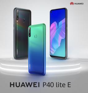 Huawei P40 Lite E na caixa selado
