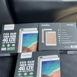 """Tablet Modio M12 / 7.0"""" / 16gb+2gb / dual sim / selado"""
