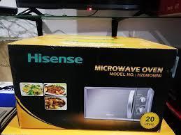 Microondas Hisense 20L Cizento Selado