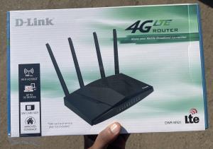 Router D-Link 4G/LTE ( leva Cartao )