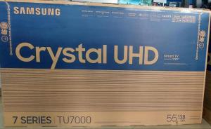 Smart Tv Samsung 55 Polegadas 55TU7000 UHD 4K Seladas