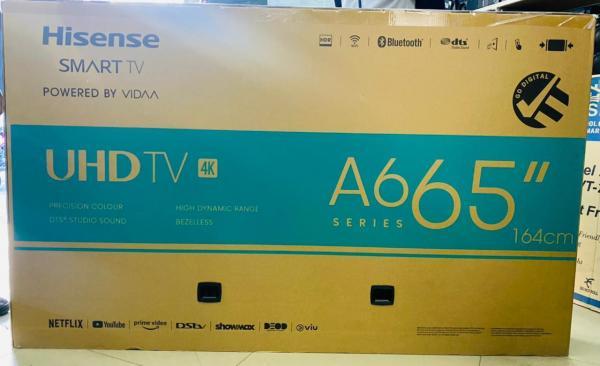 """Hisense  65"""" smart 4k  A6G model 2021"""
