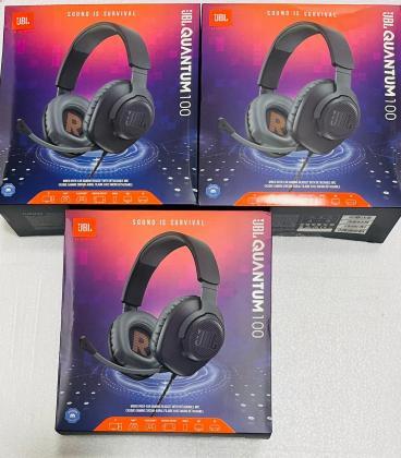 JBL Quantum 100 ( headphones com micro )