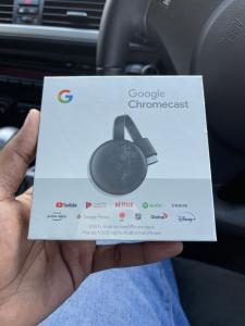 Google chromecast selado