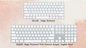 Magic keyboard MLA22  iMac